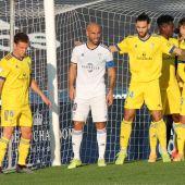 Añón en un partido contra el Cádiz B
