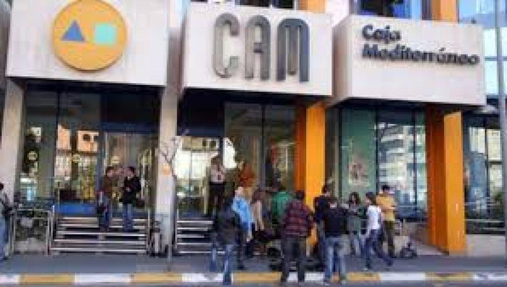 Antigua sede central de la CAM en Alicante