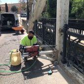Arrancan las catas que permitirán rehabilitar el puente de San Miguel