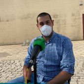 Álvaro Quirós, periodista en Puerto Real