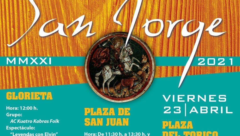Teruel celebrará San Jorge con actos en la calle
