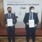 Los presidentes de Murcia y Andalucía piden al Gobierno que no toque el trasvase