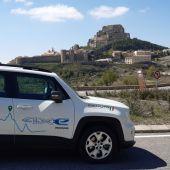 Llegamos hasta Morella con el Jeep Renegade Híbrido.