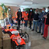 La Junta suministra material y vestuario a 5 agrupaciones de voluntarios de Protección Civil de la provincia de Palencia