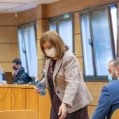 Jacinta Monroy durante el juicio