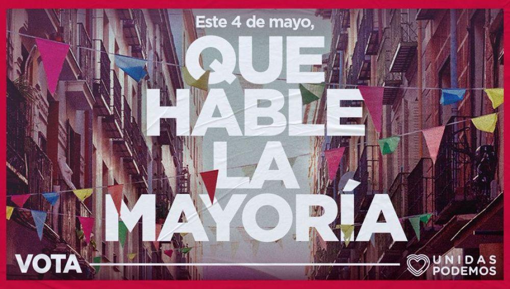 Unidas Podemos oculta a Pablo Iglesias de su cartel electoral para el 4-M