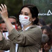 Candidata del PP a las elecciones madrileñas, Isabel Díaz Ayuso