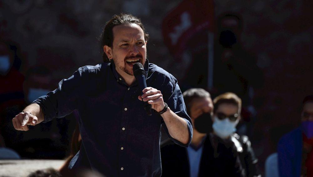 Podemos oculta a Pablo Iglesias de su cartel electoral para las elecciones en Madrid