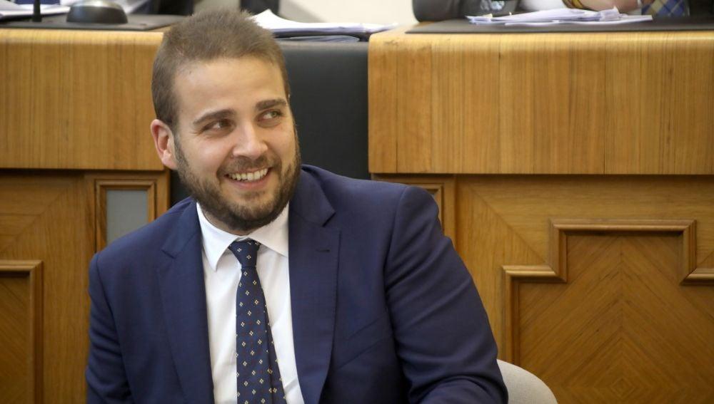 El diputado Adrián Ballester