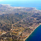 vista aérea Costa del Sol Marbella