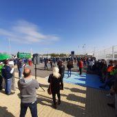 Concentración en la  factoría de Puerto Real (Cádiz)