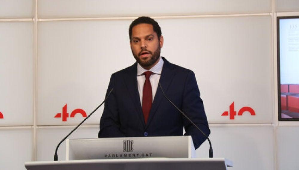 Ignacio Garriga, líder de Vox en Catalunya
