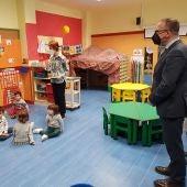 El consejero Faci ha visitado el colegio Hilarión Gimeno de Zaragoza