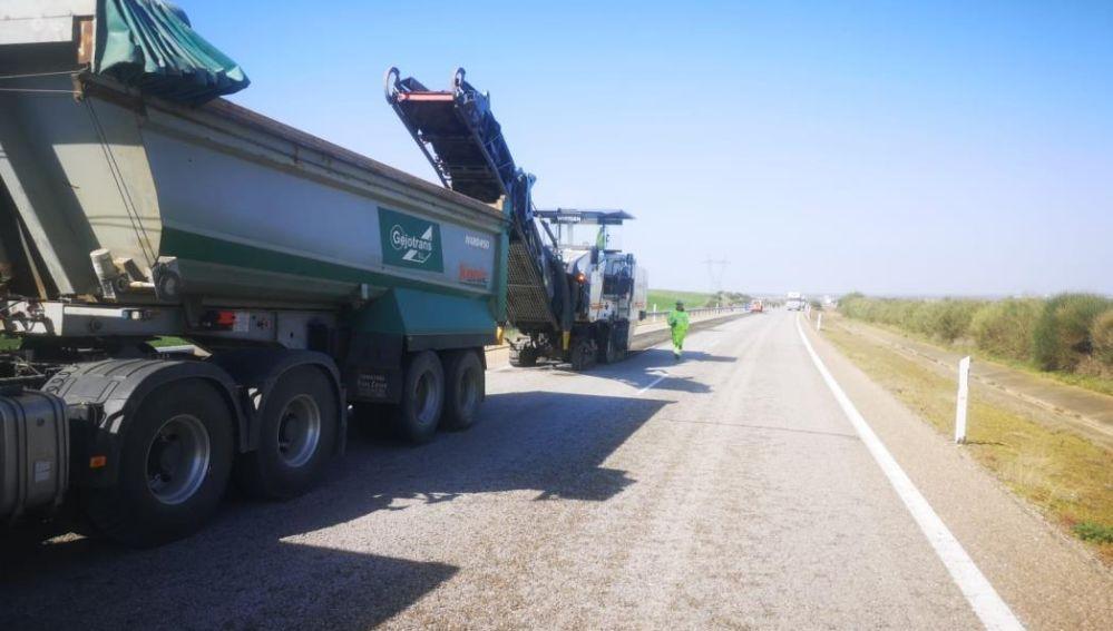 Se licita las obras de rehabilitación del firme de las carreteras N-120 y N-536