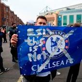 Aficionados del Chelsea se manifiestan en contra de la Superliga