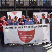 Los hosteleros de Toledo se concentran de nuevo en la capital