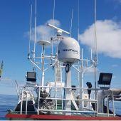 Instrumentación a bordo del barco Damafrán