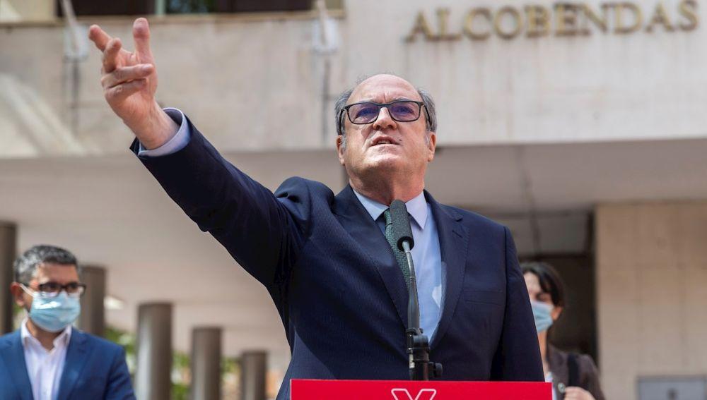 El candidato del PSOE para la presidencia de la Comunidad de Madrid, Ángel Gabilondo
