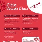 Cartel, ciclo Vetusta Jazz