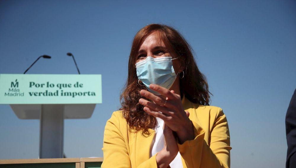 ¿Quién es Mónica García, la candidata de Más Madrid en las elecciones a la Comunidad de Madrid?