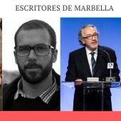 De izquierda a derecha: María Mesa, Sergio Navarro, Juan Malpartida y José Antonio Moreno