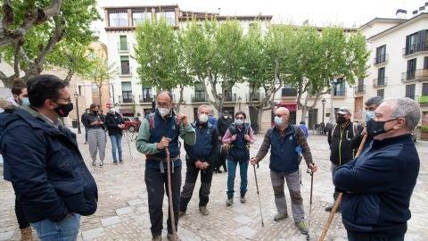 200.000 euros para recuperar el sendero de peregrinos de San Úrbez