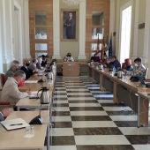 Ocho alumnos y alumnas de la Universidad de Extremadura realizan prácticas en el Instituto Municipal de Juventud
