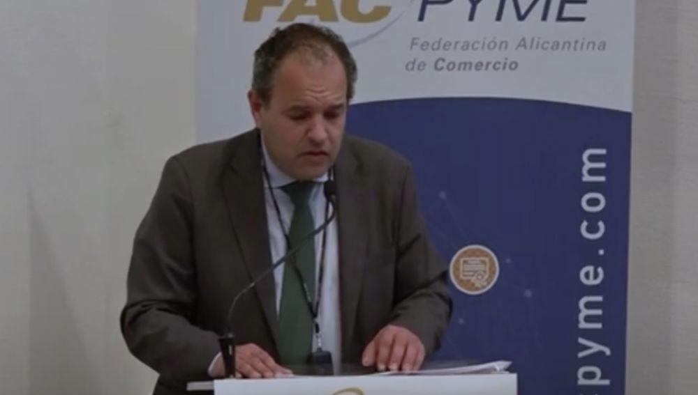 Carlos Baño, presidente de Facpyme