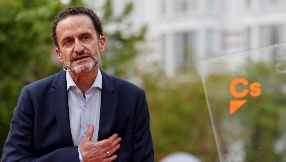 El candidato de Ciudadanos (Cs) a la presidencia de la Comunidad de Madrid, Edmundo Bal.