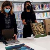 La nueva Biblioteca del Museo Helga de Alvear cobra vida