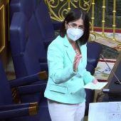 """Carolina Darias: """"El estado de alarma no puede ser permanente"""""""