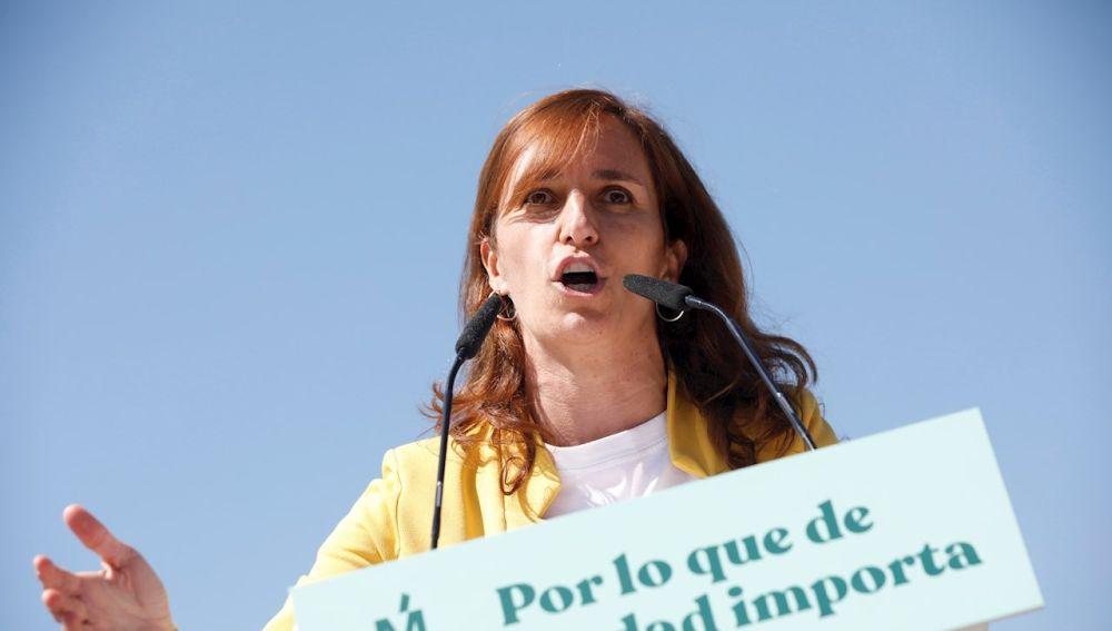 La candidata de Más Madrid a presidir la Comunidad de Madrid