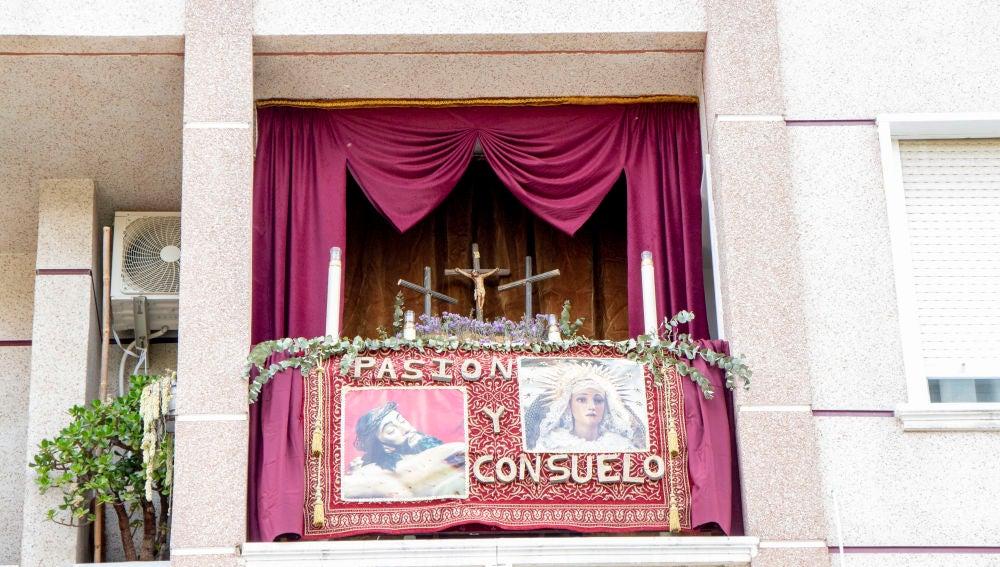 """La Junta Mayor de Cofradías, Hermandades y Mayordomías de Semana Santa de Orihuela ha hecho entrega de los premios del primer Concurso """"Por Ventanas y Balcones"""""""