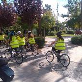 Itinerarios urbanos en Biciescuela