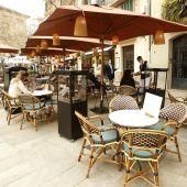 Palma mantiene la exención del pago de las terrazas hasta final de año