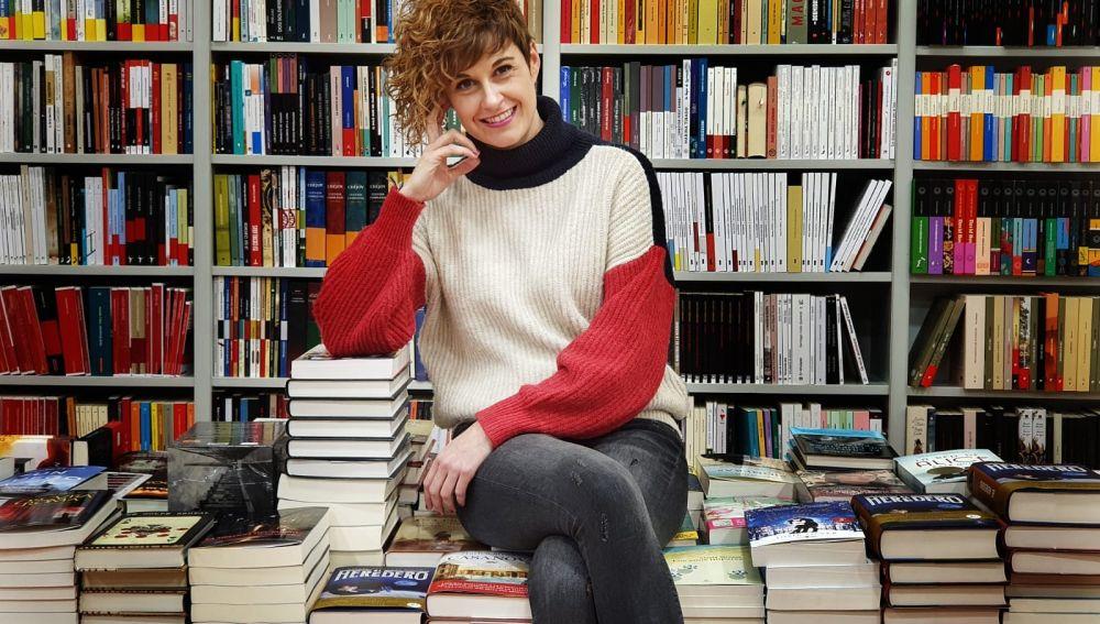 Rocío Minaya, librera de la Popular