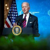 El presidente de EE.UU., Joe Biden, habla durante una Cumbre de Líderes sobre el Clima este jueves 22 de abril de 2021