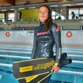 La ilicitana Isabel Sánchez-Arán vuelve a la competición en el Campeonato de España de Apnea Indoor.