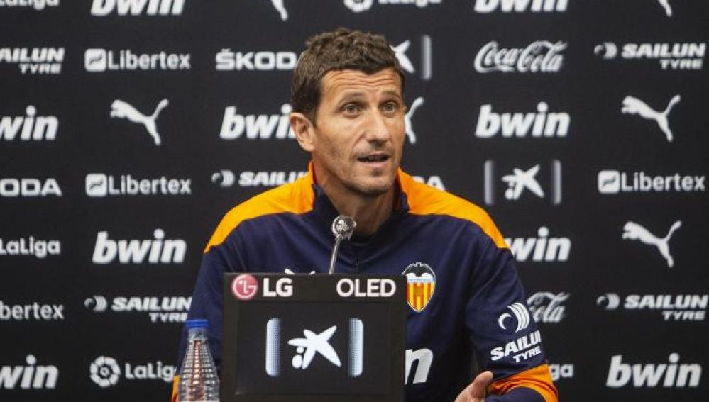 Javi Gracia, entrenador del Valencia CF