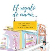 Cartel de la campaña de promoción del día de la madre