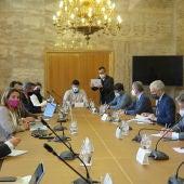 Mesa de negociación de Ence en el Ministerio de Transición Ecológica