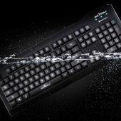 Los teclados y ratones para lavavajillas están fabricados con silicona y cuentan con un agente microbiano que evita su desgaste.