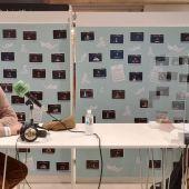 El periodista Javier  Andrés junto a la conductora de Más de Uno Castellón, Marta Fullera.