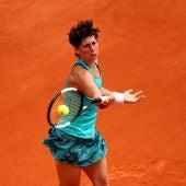 Carla Suárez, en Roland Garros 2019
