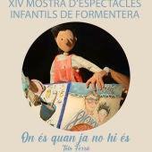 La obra 'On és quan ja no hi és' llega  a Formentera
