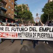 La manifestación ha discurrido desde el Complejo Petroquímico hasta la Concha de la Música