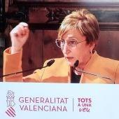 Ana Barceló, consellera de Sanidad Universal