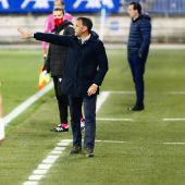 Javier Calleja, entrenador del Deportivo Alavés