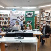 Día del Libro en Onda Cero Albacete desde la Biblioteca Pública del Estado.