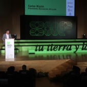 El presidente de la institución provincial, Carlos Mazón, participa junto a los 27 alcaldes en la presentación de esta iniciativa impulsada por Convega